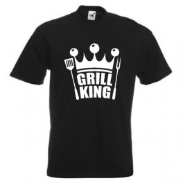 Grill King (T-Shirt), Sort