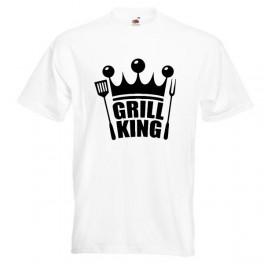 Grill King (T-Shirt), hvid