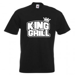 King Of The Grill (T-Shirt), sort