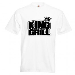 King Of The Grill (T-Shirt), hvid