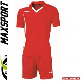 Max Sport Monviso Holdsæt, Rød/Hvid (13+1)