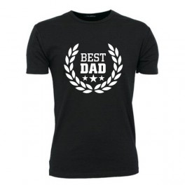 Best Dad, Sort (T-Shirt)