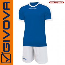 Givova, Kit Revolution Blue-White (13+1)