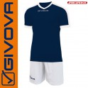 Givova, Kit Revolution Navy-White (13+1)