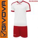 Givova, Kit Revolution White-Red (13+1)