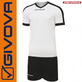Givova, Kit Revolution White-Red (13+1)