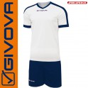 Givova, Kit Revolution White-Black (13+1)