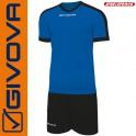 Givova, Kit Revolution Blue-Black (13+1)