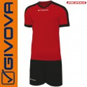Givova, Kit Revolution Red-Black (13+1)