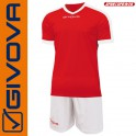 Givova, Kit Revolution Red-White (13+1)
