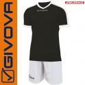 Givova, Kit Revolution Black-White (13+1)