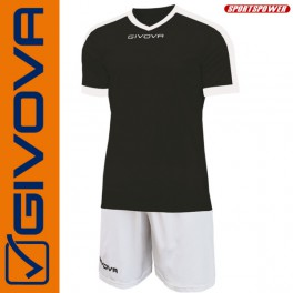 Givova, Kit Revolution Black-White (13+1)