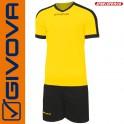 Givova, Kit Revolution Yellow-Black (13+1)