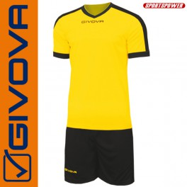 Givova, Kit Revolution Yellow-Black (13+1)