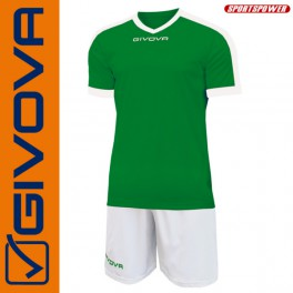 Givova, Kit Revolution Green-White (Spillesæt)