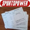 Kampkort til dommer (til 24 kampe)