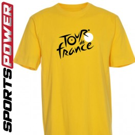 Tour De France, Gul (T-Shirt)