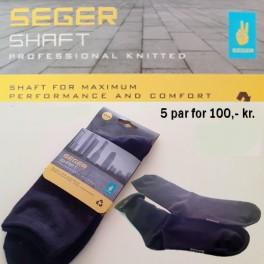 Seger strømper, Shaft (Tennis-sokker) 5-PACK