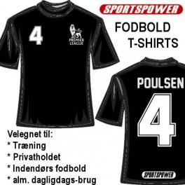 Trainer-Shirt, Sort
