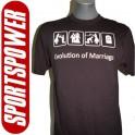 Evolution Of Marriage (Statement T-Shirt)