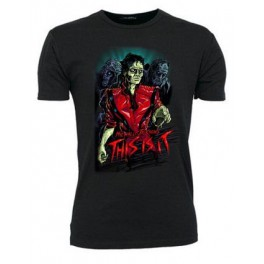 MJ Zombie (T-Shirt, digitaltryk)