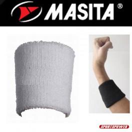 Masita Håndleds Svedbånd (Hvid, 6 cm)