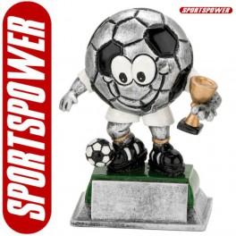 Statuette: Fodbold Vinder (120mm)
