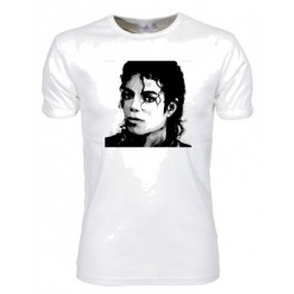 MJ Face 2 (T-Shirt, digitaltryk)