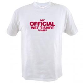 My Official Wet T-shirt (Statement T-Shirt)