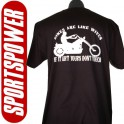 Bikes Are Like Wives (Statement T-Shirt)